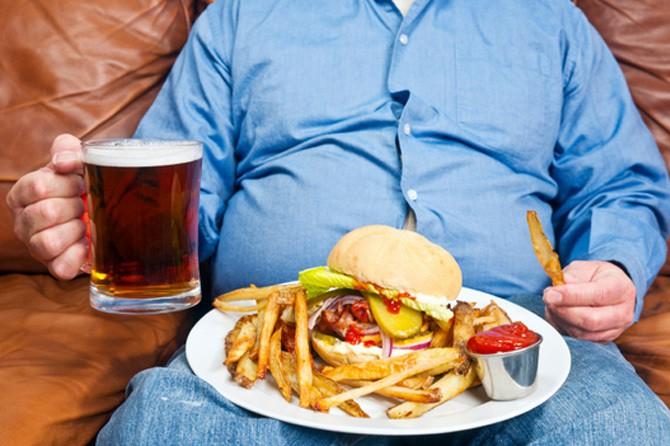 Нездоровое питание. Вредные блюда и напитки