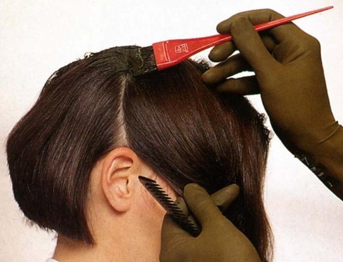 Маска из чёрной глины для волос