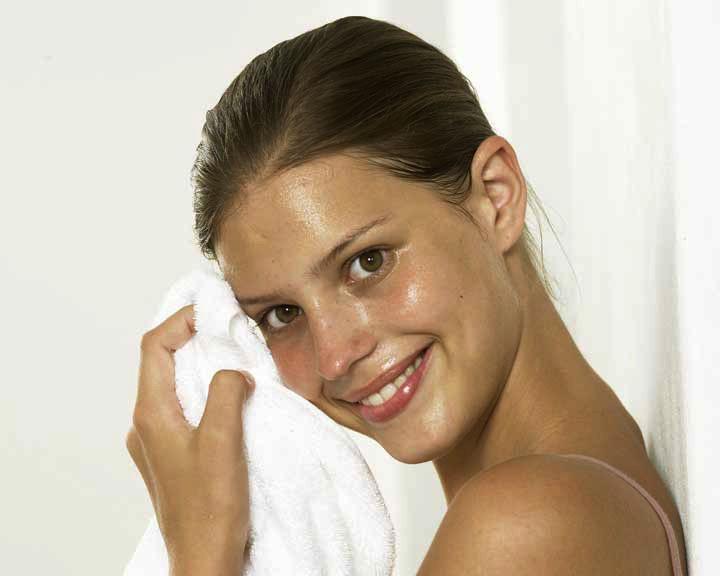 Маска из белой глины для жирной кожи лица