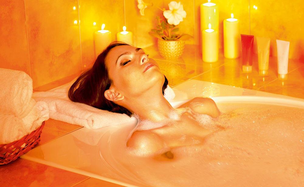 Ванна с розовой глины для оздоровления и релаксации