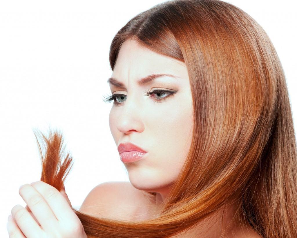 Маска из белой глины против сечения и ломкости кончиков волос