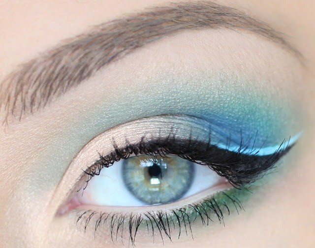 Макияж для серо-голубых глаз пошаговый