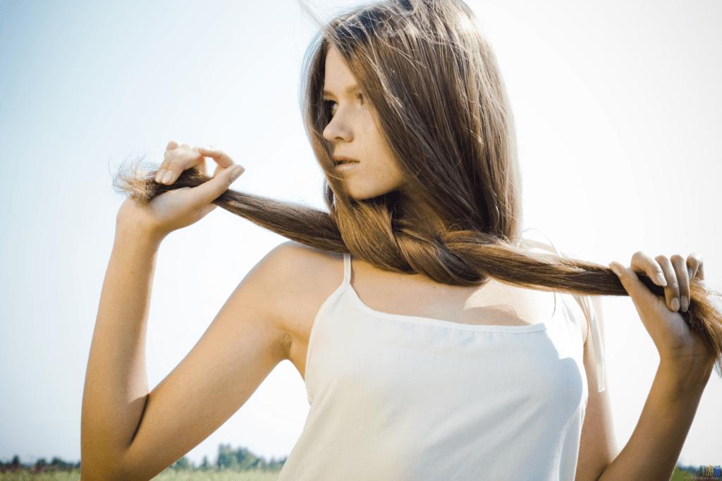 Маска из голубой глины для укрепление волос