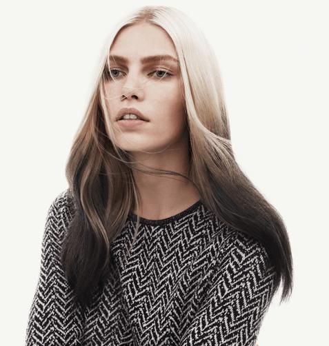 Окрашивание омбре на длинных волосах