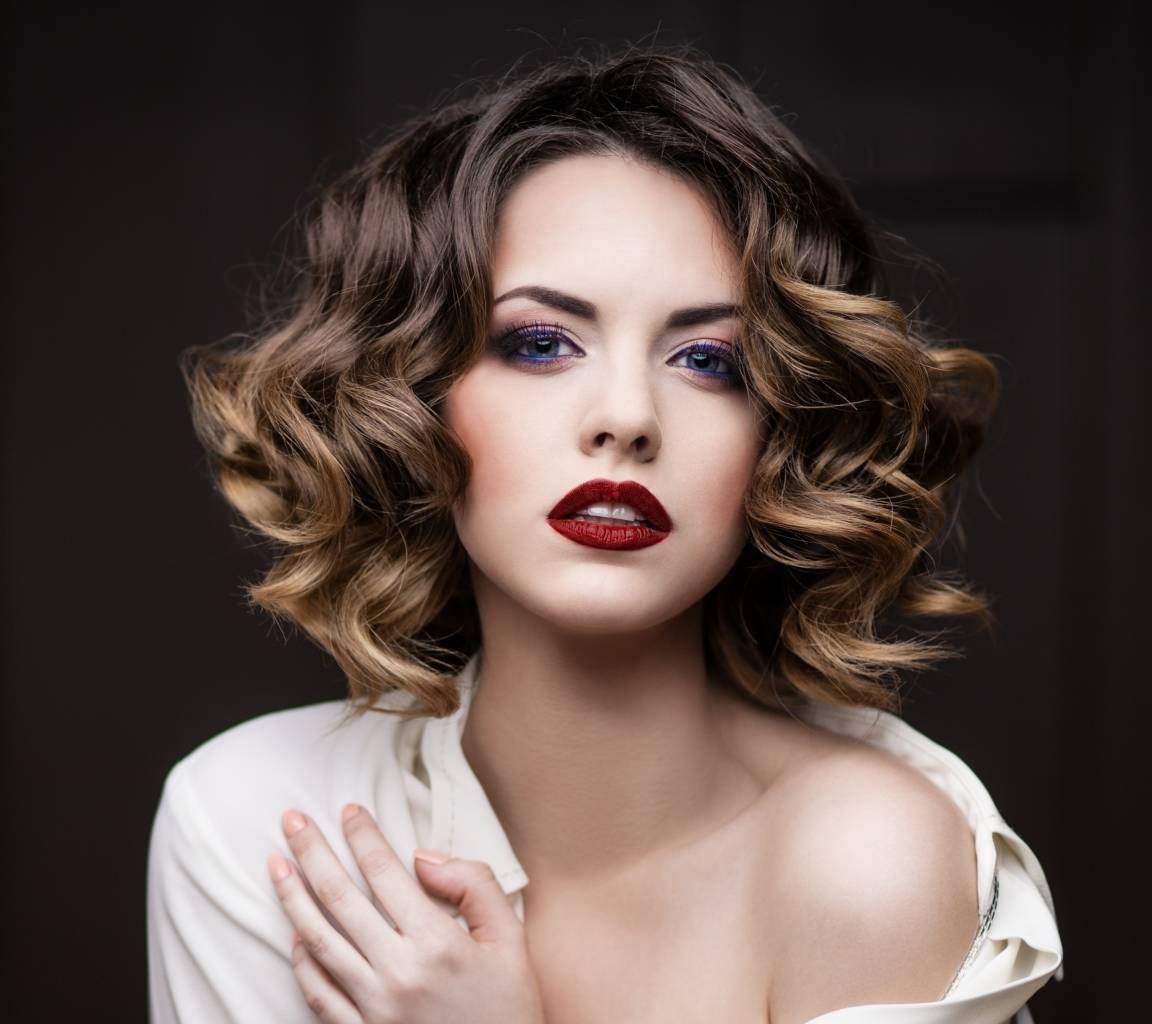 Окрашивание омбре для волос средней длины