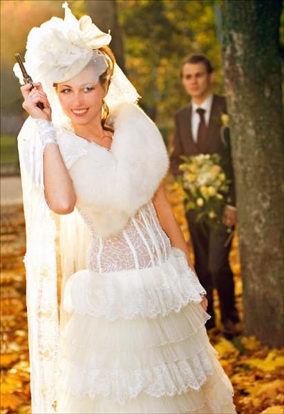 свадебные платья в стиле чикаго