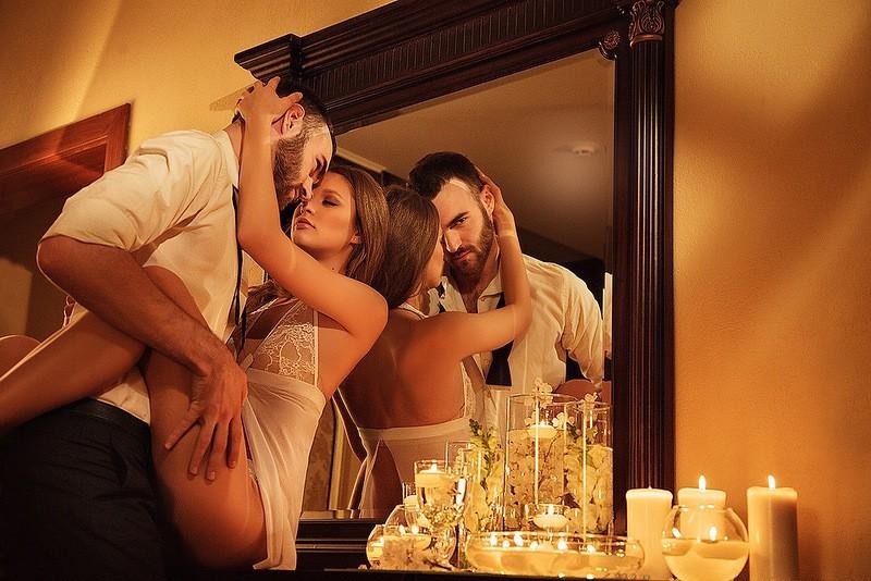 романтический наряд на вечер