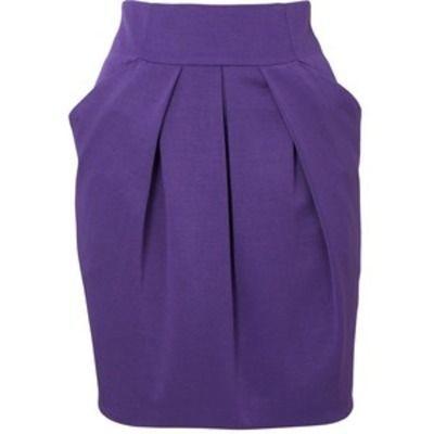 юбка тюльпан с карманами