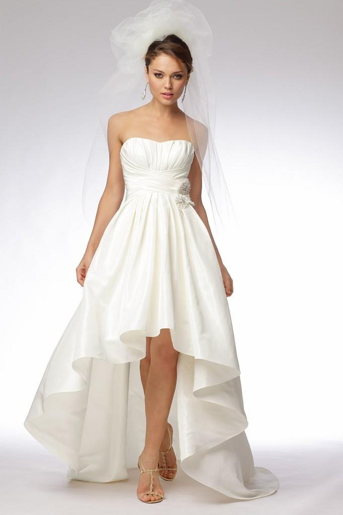 Свадебные платья короткое с переди