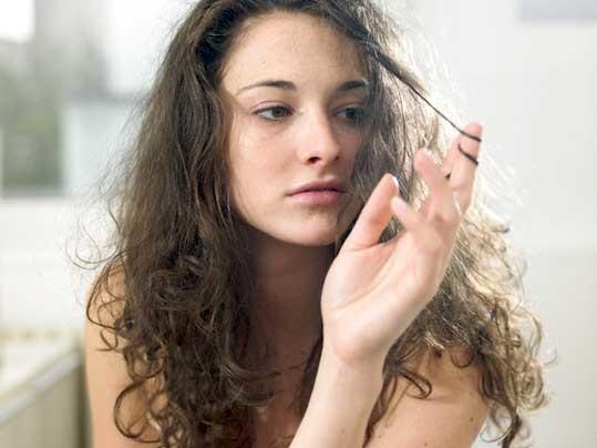 Витамины от выпадения волос.