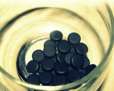 Активированный уголь для похудения.