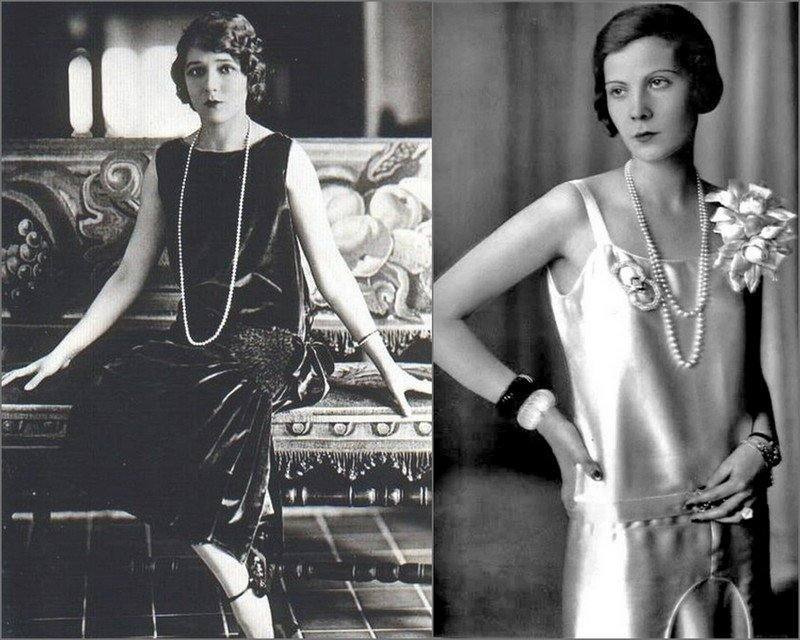 вечернее платье в стиле 20-х