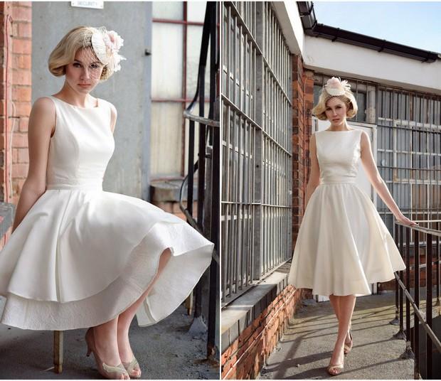 фото в свадебных платьях моделей голышом
