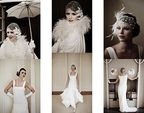 свадебное платье в стиле 20-х годов чикаго