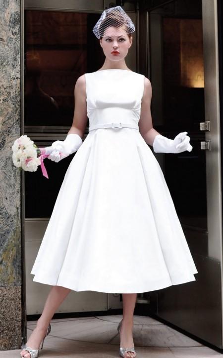 свадебное платье в стиле 60-х годов