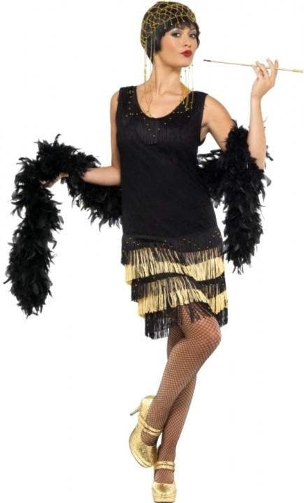 Платья с бахромой в стиле чикаго