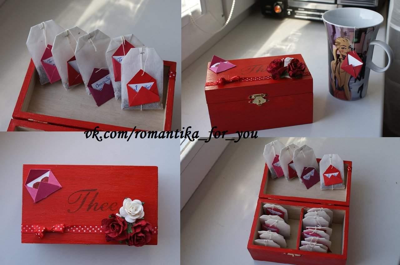 Подарки своими руками на 14 февраля, день святого Валентина