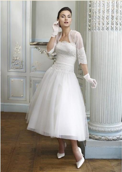 свадебные платья 60-х