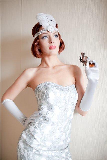 свадебные платья в стиле 30-х