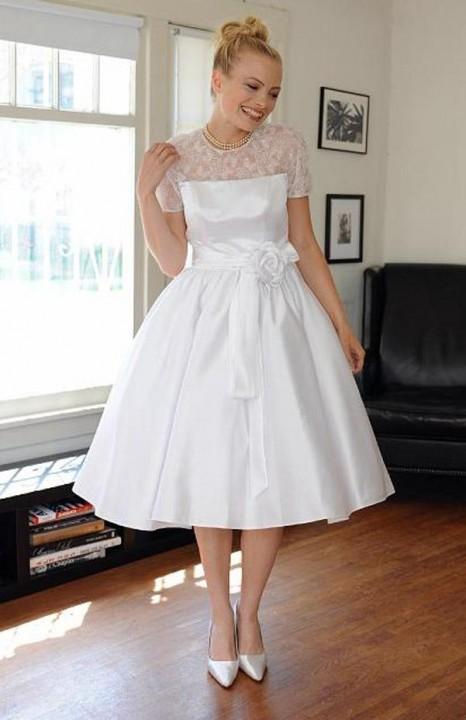 пышные свадебные платья в стиле ретро