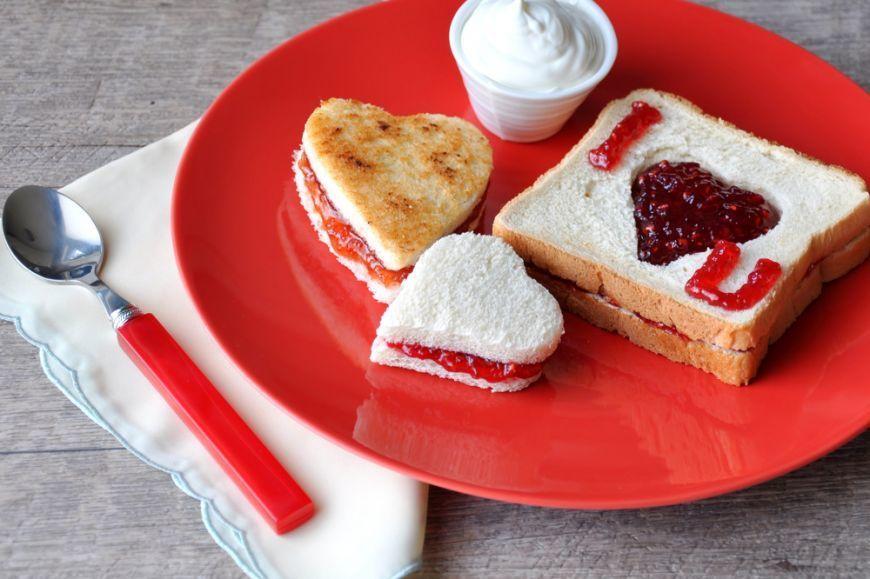 романтические идеи завтрака