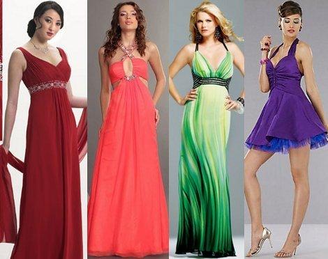 платья в греческом стиле на выпускной