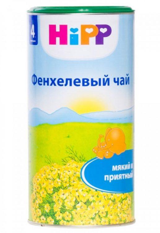 Hipp чай детский быстрорастворимый фенхель (с 4 мес) 200 гр личный кабинет