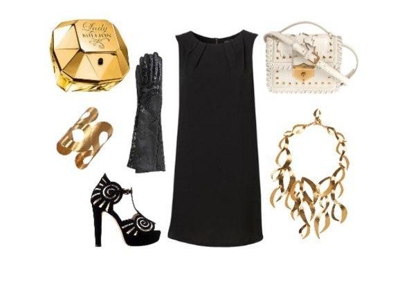 аксессуары для маленького черного платья