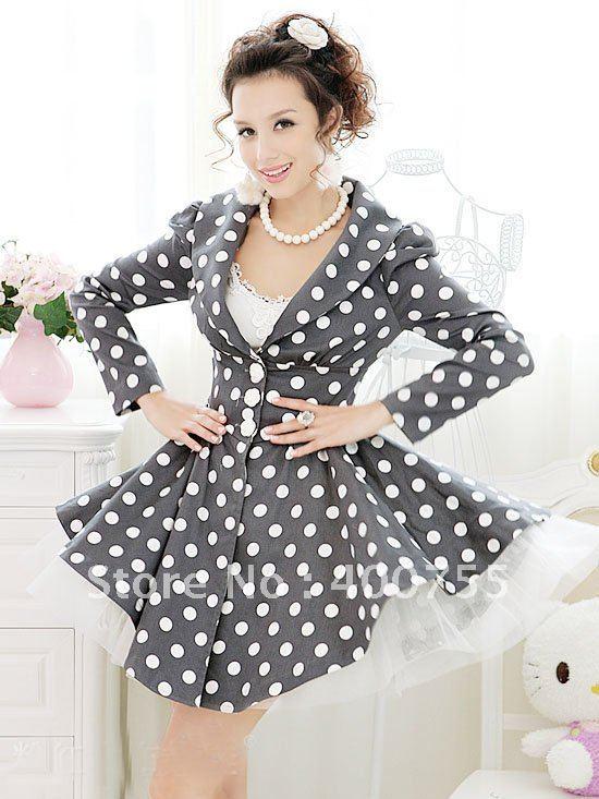 Платье в горох в стиле стиляг 26