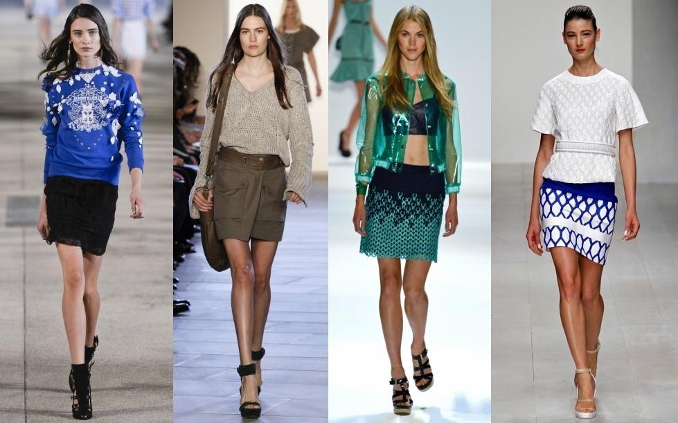 модели летних юбок