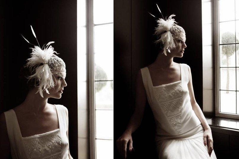 платья в стиле 20-х свадебные
