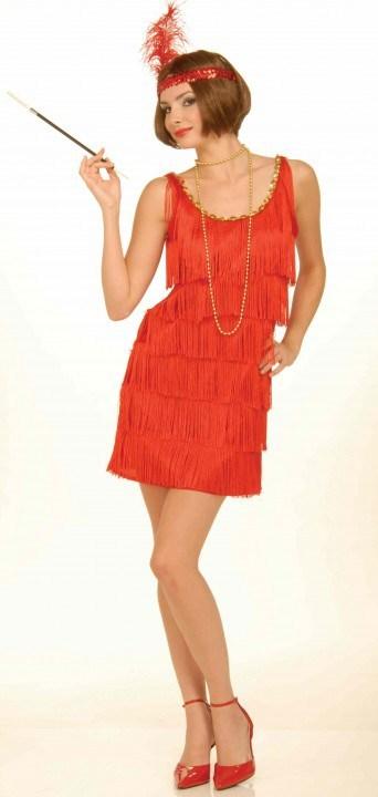 Красные платья 30-х