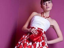 платье с пышным подъюбником стиляги