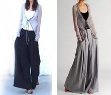 длинная юбка брюки