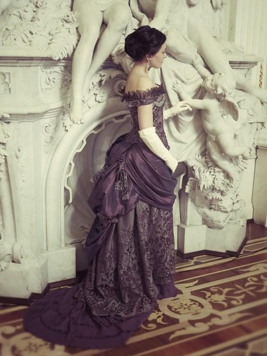 платья в стиле ампир 19 век
