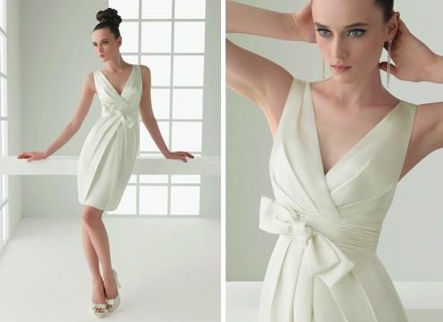 свадебное платье в стиле 50-х