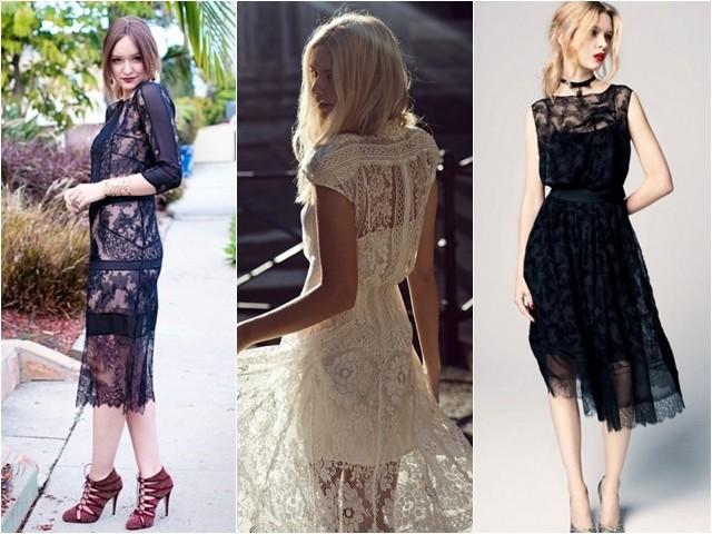 винтажные платья в стиле ретро