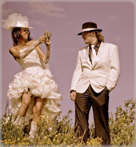 свадьба в стиле чикаго платье