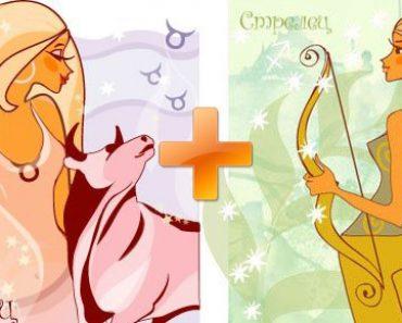 Совместимость тельца и стрельца по знакам зодиака (гороскопа)