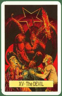 Карта ТАРО № 15 - Дьявол
