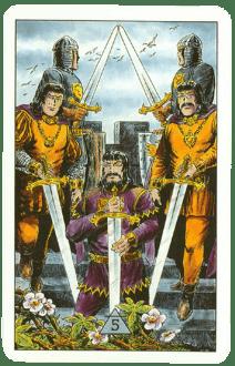 5 (Пятерка) мечей