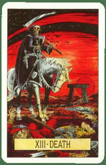 Карта ТАРО № 13 - Смерть
