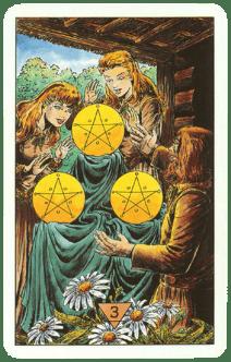 3 (Тройка) пентаклей