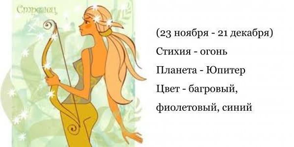 Стрелец - гороскоп совместимости и характеристика знака зодиака. Мужчина Стрелец. Женщина Стрелец