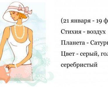 Водолей - гороскоп совместимости и характеристика знака зодиака. Мужчина Водолей. Женщина Водолей