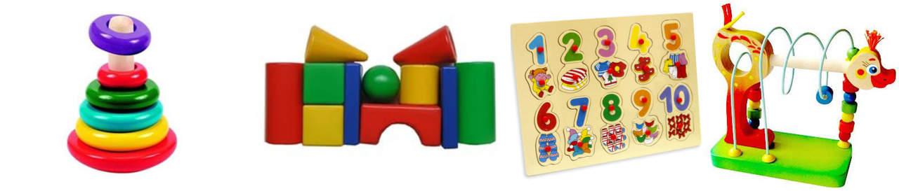 Развивающие игрушки от 1 до 2 лет