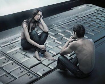 Любовь мужчины и женщины на расстоянии