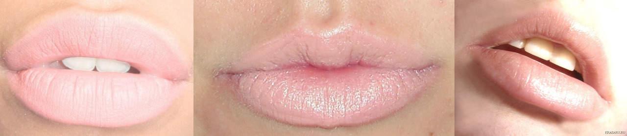Светлый кайал - татуаж губ