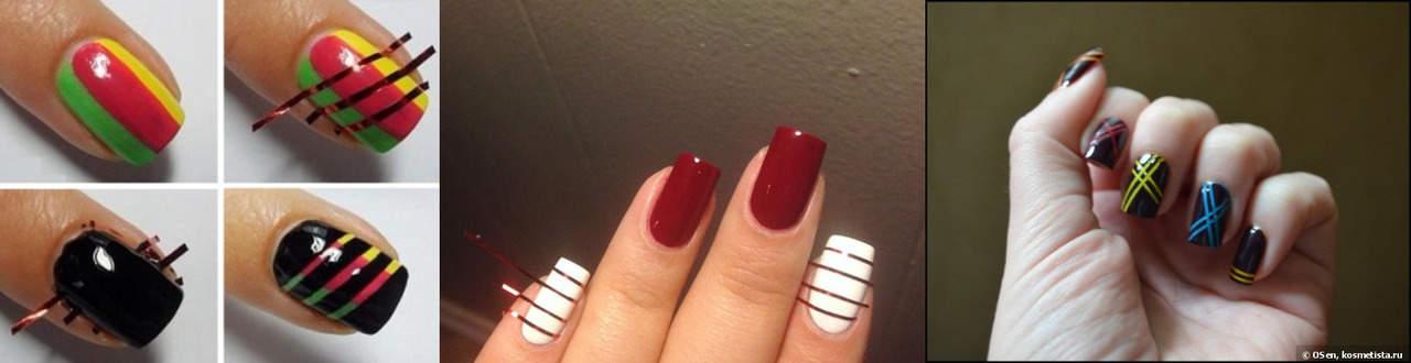 Какие узоры можно нарисовать на ногтях