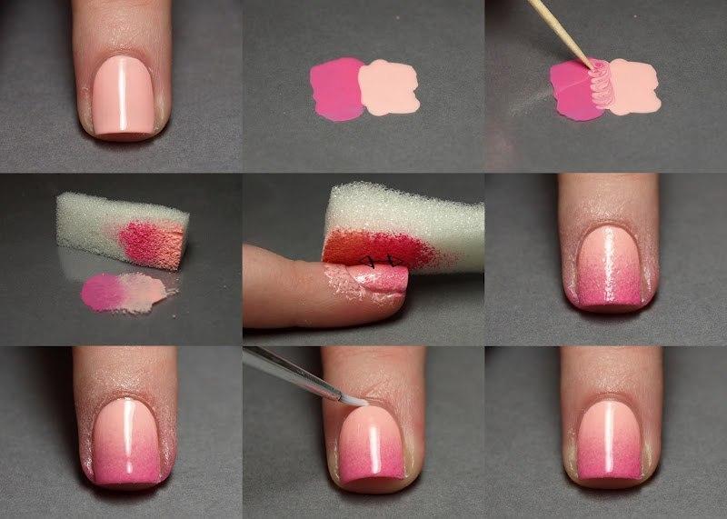 Простой маникюр на коротких ногтях в домашних условиях